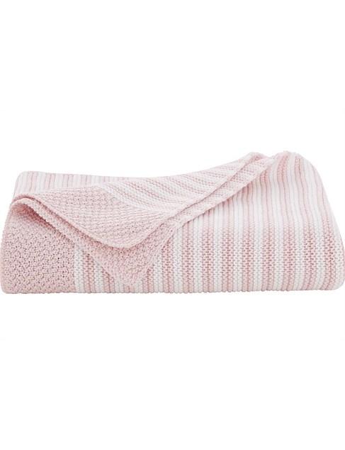 Sheridan: Emlynn Pram Blanket Pink