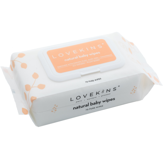 [Clearance] Lovekins: Natural Baby Wipes