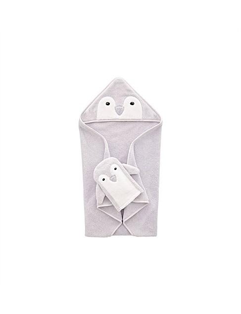 Sheridan: Pipp Novelty Hooded Towel & Mit Set