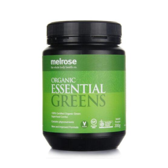 Melrose Organic Essential Greens Powder 200g