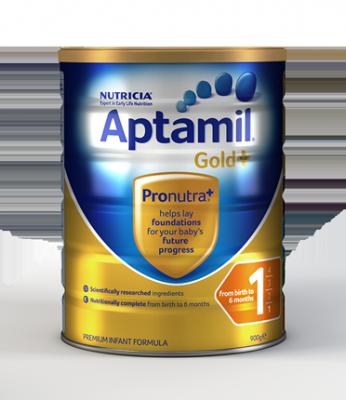 Aptamil: Aptamil Gold+ 1 Formula – Birth to 6 Months